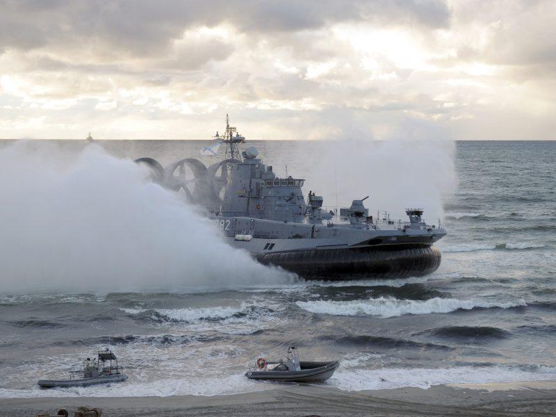 Estijos ministras: Rusija stengiasi priversti NATO trauktis iš Baltijos jūros