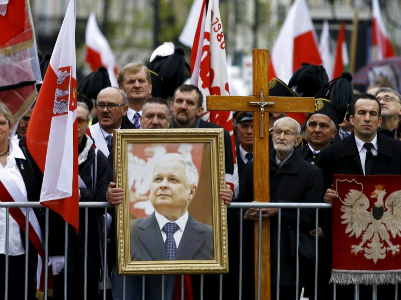 Skundas atmestas: teismas leido gatvę Vilniuje vadinti L. Kaczynskio vardu