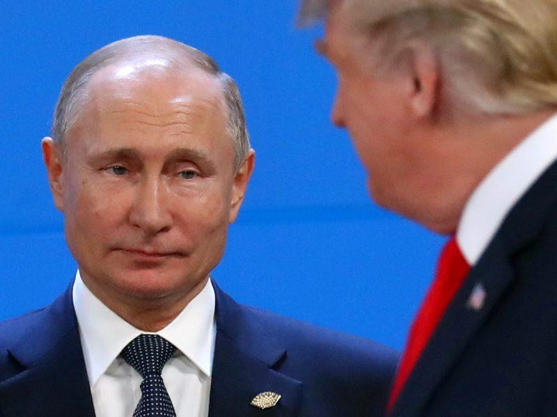 V. Putinas stabdo Rusijos dalyvavimą INF sutartyje