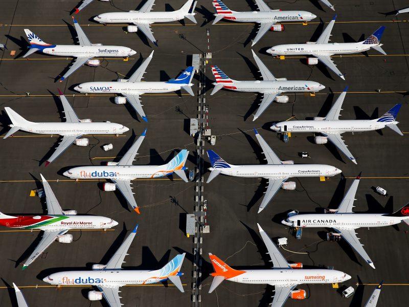 """Po lėktuvų katastrofų """"Boeing 737 Max"""" iki metų pabaigos vėl skraidys?"""
