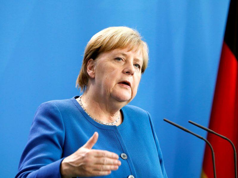 A. Merkel: klimato kaita yra iššūkis žmonijai
