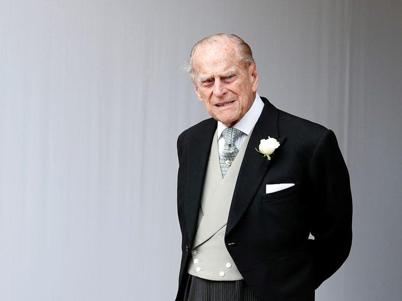 Mirė karalienės Elizabeth II sutuoktinis princas Philipas