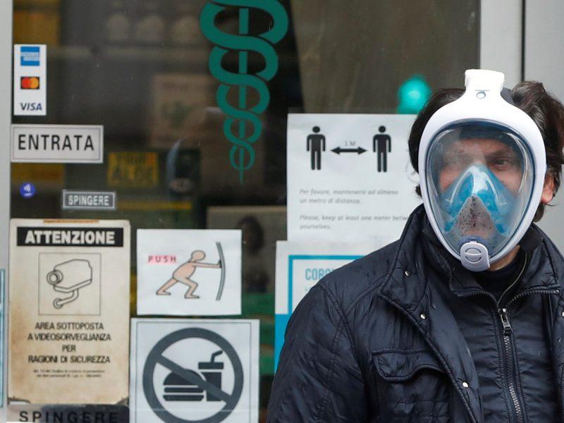 Europoje koronaviruso atvejų skaičius perkopė 250 tūkst.