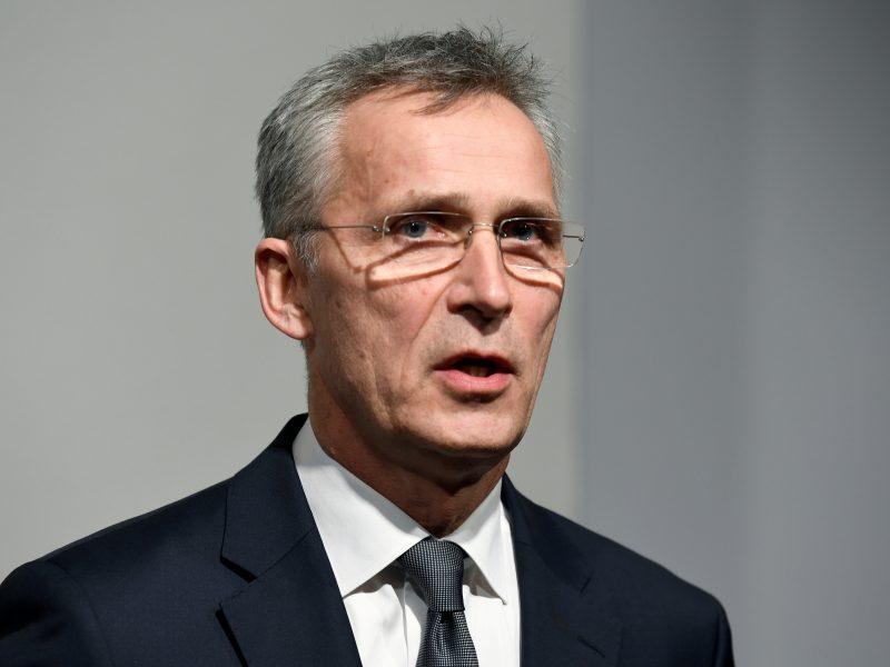 NATO vadovas pritaria tarptautiniam tyrimui dėl koronaviruso atsiradimo Kinijoje