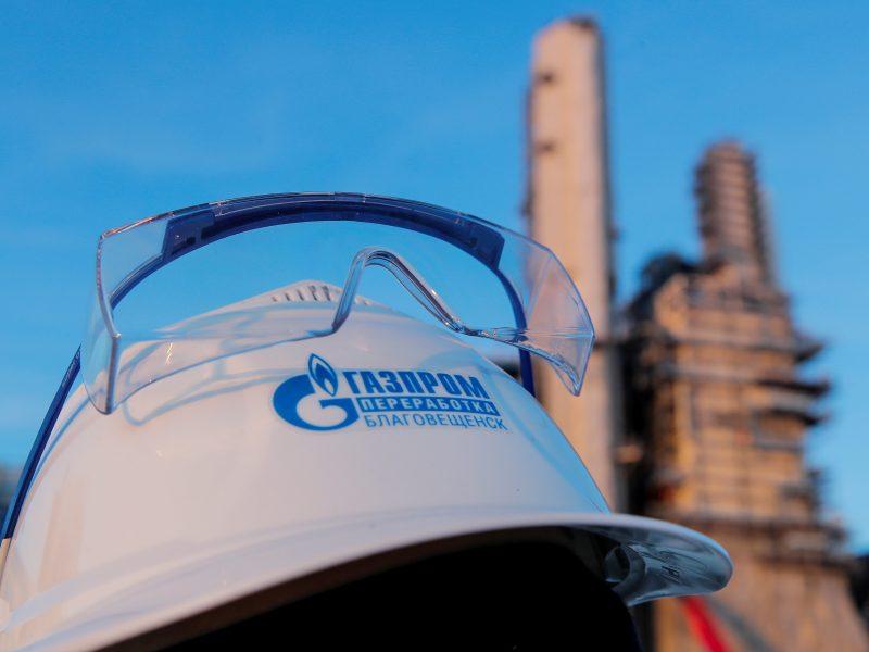 """""""Gazprom"""" įžvelgia grėsmę dujų tiekimui Europai"""