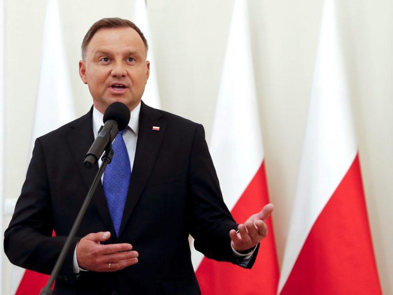Lietuvoje kitą savaitę lankysis Lenkijos prezidentas