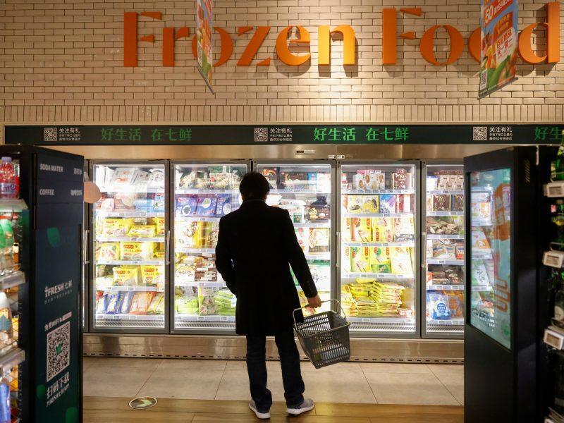 Ant šaldyto maisto pakuočių aptikus koronavirusą Kinija griežtina patikras