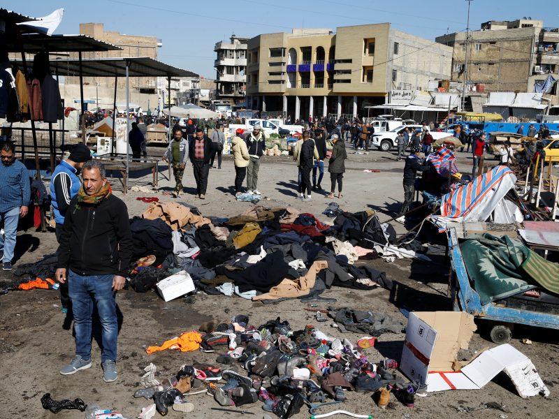 Sprogdinimo Bagdade aukų padaugėjo iki 32, dar 110 žmonių sužeista