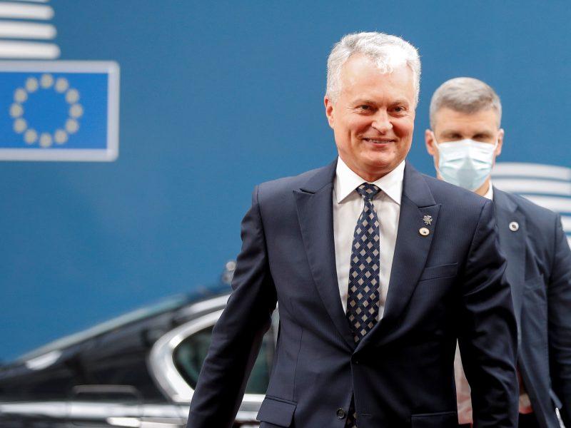 G. Nausėda: nelegalių migrantų iš Baltarusijos problema yra visos ES problema