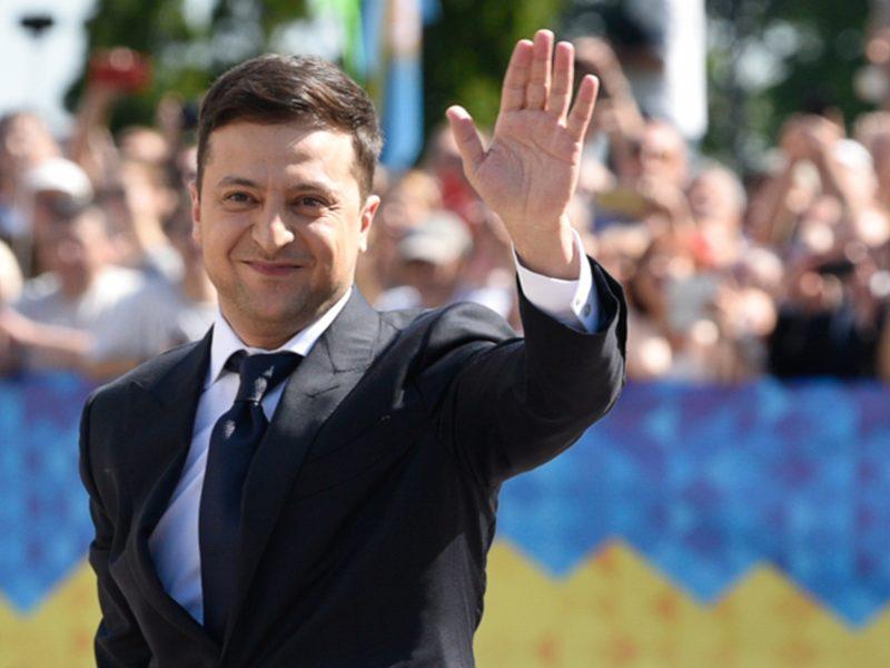 V. Zelenskis mato naujų Ukrainos ir Lietuvos partnerystės perspektyvų