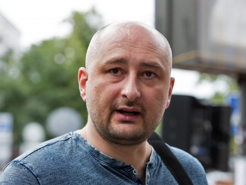 A. Tapinas: į V. Putino režimą A. Babčenka žvelgė su nevaržoma rūstybe