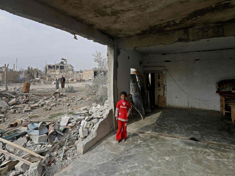 Sirijoje 29 vaikai bėgo nuo smurto, bet mirė nuo šalčio