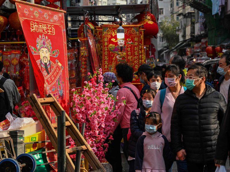 Kinija suvaržė keliones per Naujųjų metų pagal Mėnulio kalendorių šventes