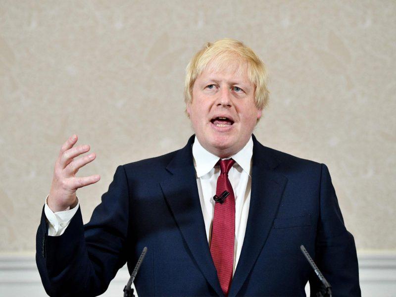 """B. Johnsonas siekia išgelbėti savo """"Brexit"""" planą"""
