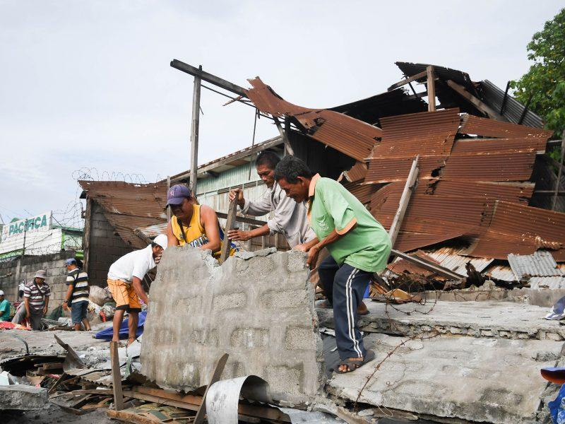Prie Filipinų – 7 balų žemės drebėjimas