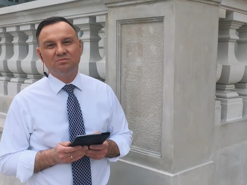 Lenkijos prezidentas priėmė repavimo iššūkį