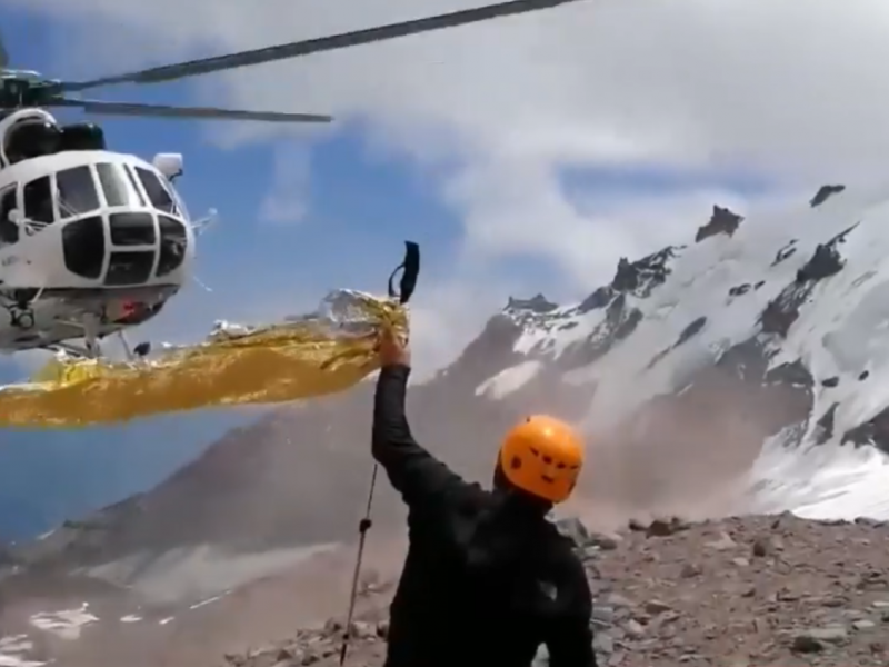 Sakartvelo kalnuose išgelbėtas lietuvis