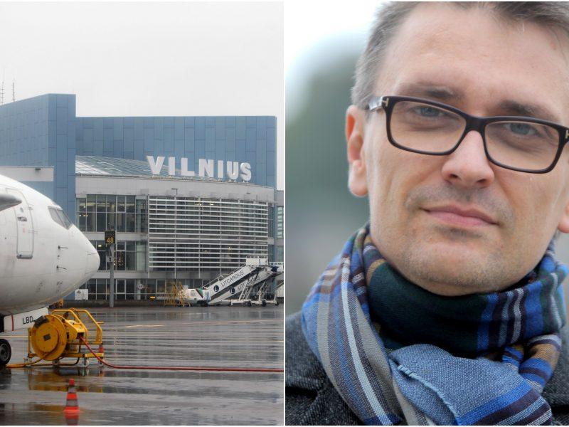 Politologą oro uoste šokiravo tariama kova su pandemija: tai yra imitacija