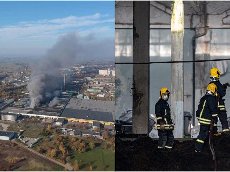 Sudėtinga situacija dėl gaisro Alytuje: gyventojų prašoma išvykti iš namų
