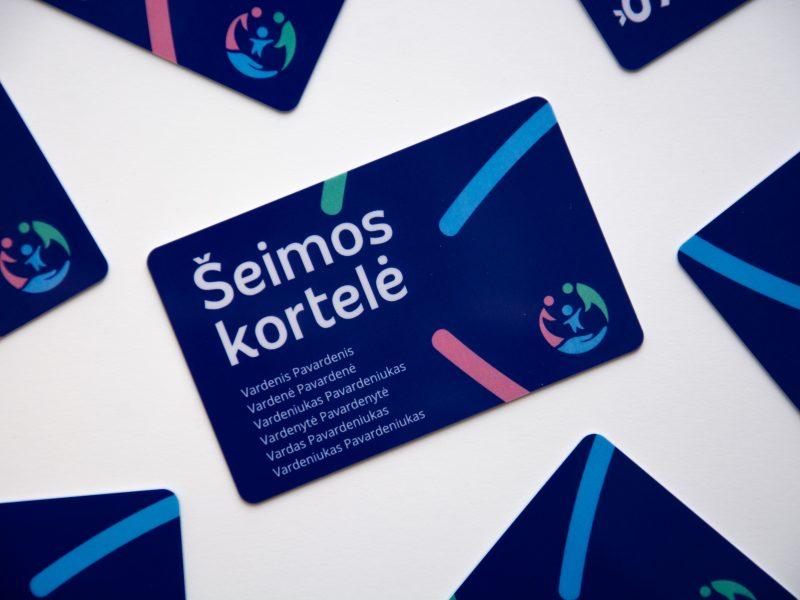Pristatė Šeimos kortelės nuolaidas: kur bus galima naudotis lengvatomis?