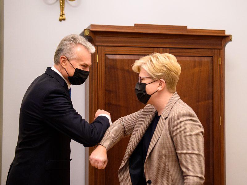 G. Nausėda paskyrė I. Šimonytę ministre pirmininke