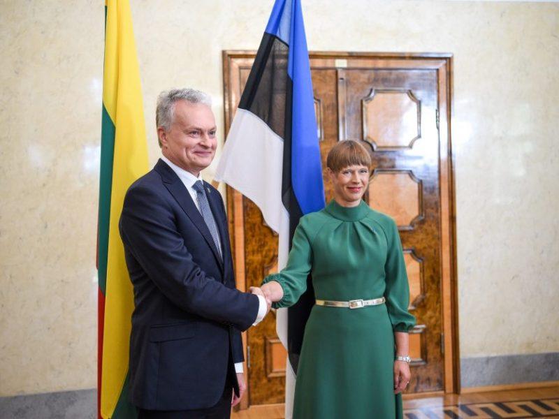 G. Nausėda su Estijos vadove kalbėjosi apie Rusiją