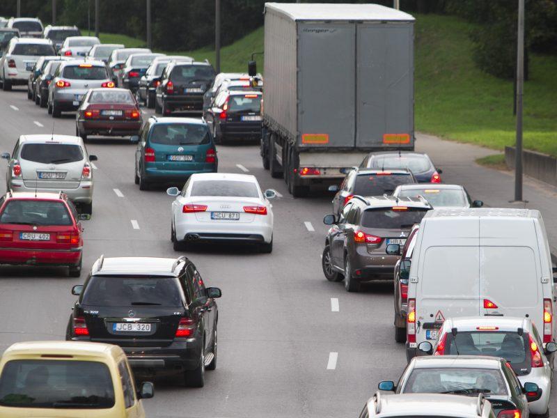Lietuvoje parduodama daugiau naujų automobilių