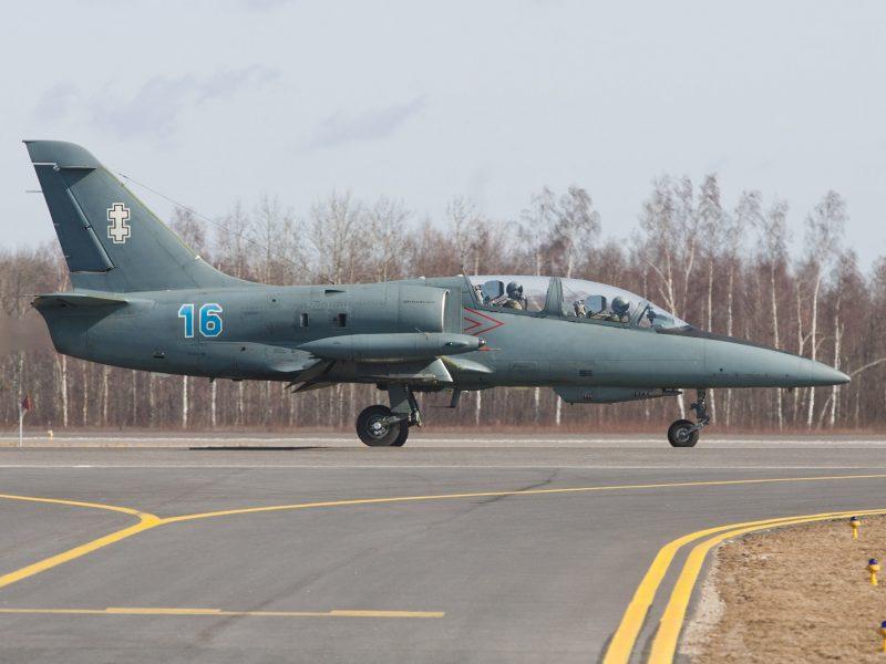 Pernai NATO naikintuvai rusų orlaivius lydėjo 110 kartų