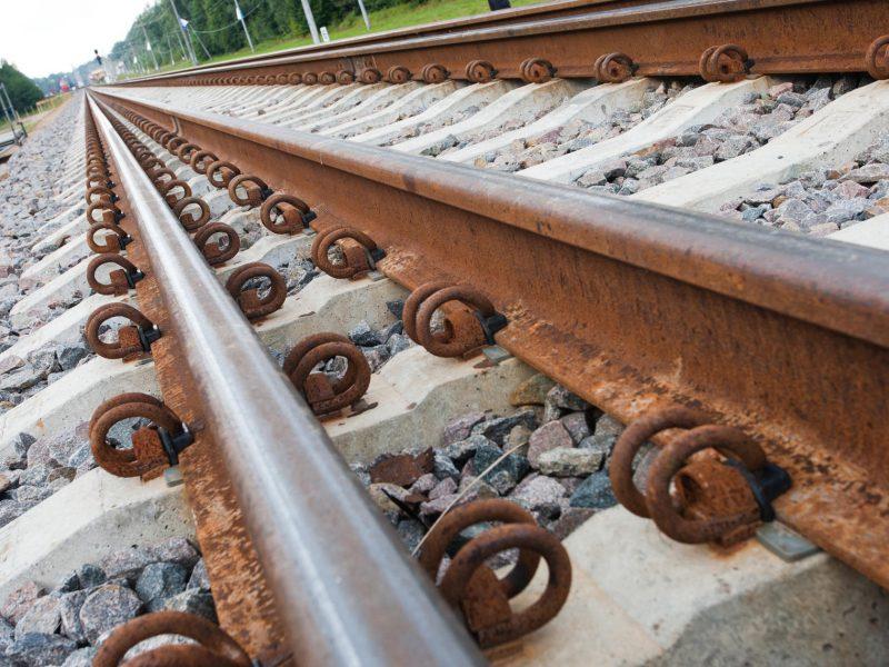Kretingoje traukinys mirtinai sužalojo žmogų
