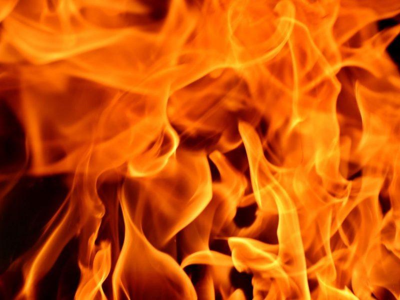 Šilutės rajone per gaisrą žuvo vyras