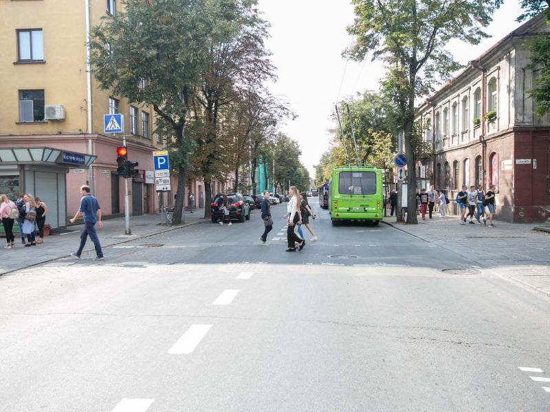 Kęstučio gatvę kol kas paliks ramybėje