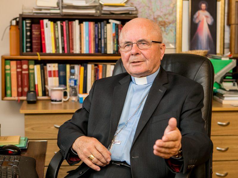 Kardinolu paskirtas S. Tamkevičius: tai padėka Lietuvai <span style=color:red;>(interviu)</span>
