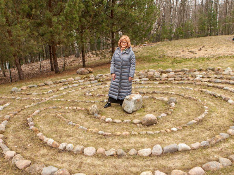 Labirintų ambasadorė R. Janulevičienė: meilė yra vienintelė tiesa