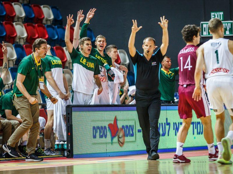 Lietuvos dvidešimtmečių krepšininkų rekordas šokiravo latvius