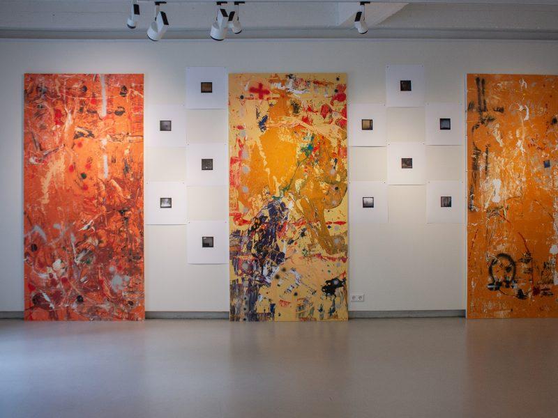 Parodoje – fotografo ir tapytojo kūrybinis dialogas