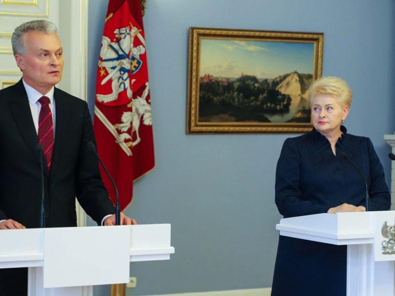 D. Grybauskaitė apie G. Nausėdos retoriką: drąsesnė retorika man pasiteisino