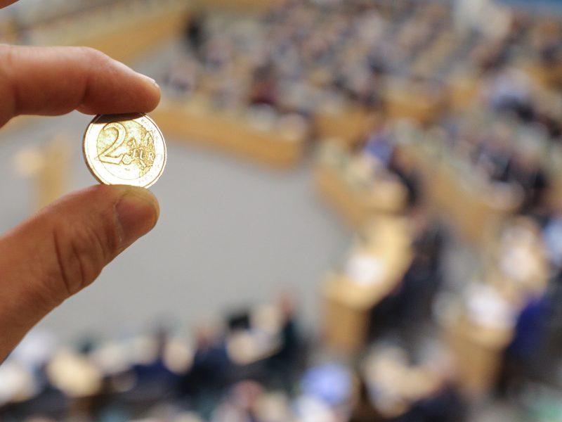 Seimui kitų metų biudžete skirta papildomai 1,6 mln. eurų