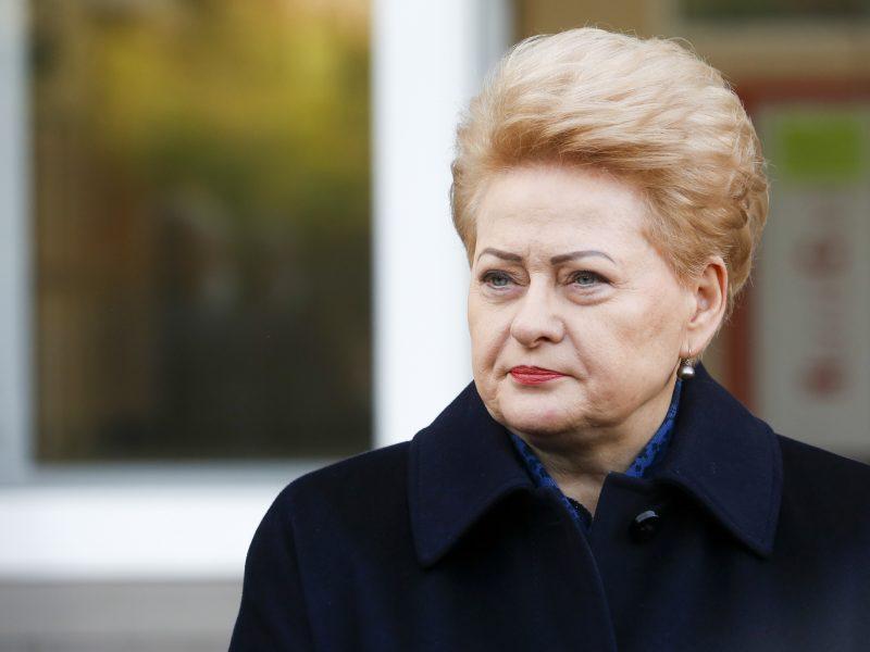 D. Grybauskaitė: koronaviruso pandemija darys įtaką biudžeto projektui