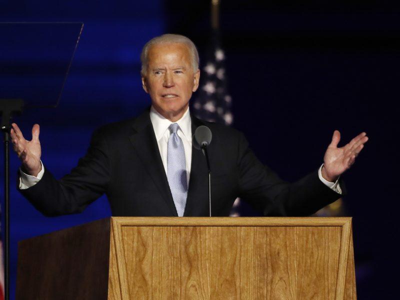 Rekordas: J. Bidenas JAV prezidento rinkimuose gavo daugiau kaip 80 mln. balsų
