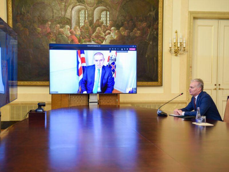 Lietuvos ir Islandijos prezidentai aptarė Šiaurės ir Baltijos šalių bendradarbiavimą