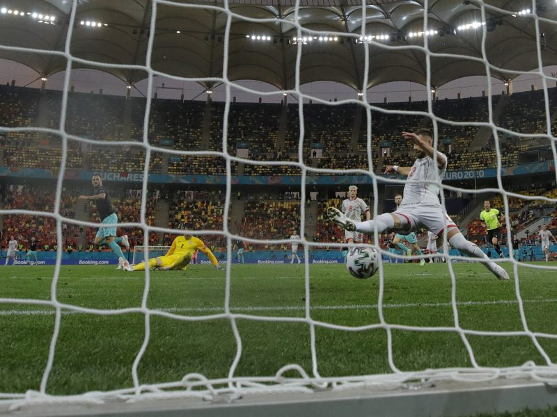 Europos futbolo čempionatas: Austrija–Šiaurės Makedonija 3:1