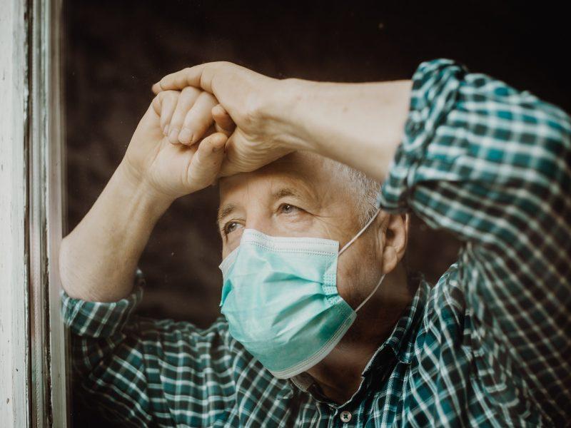 Antavilių pensionato atstovė: koronavirusu iš viso serga 196 gyventojai ir 58 darbuotojai