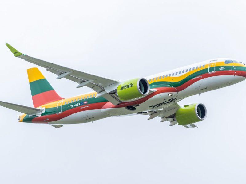 """""""Air Baltic"""" iš Vilniaus skraidins į dar penkis Europos miestus"""