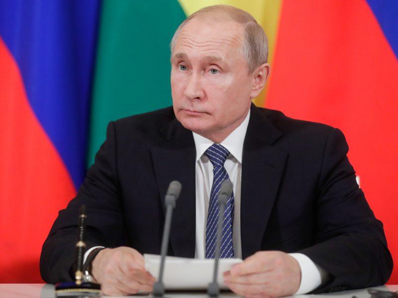 V. Putino atsakymas V. Zelenskiui: susitikime, bet yra sąlygų