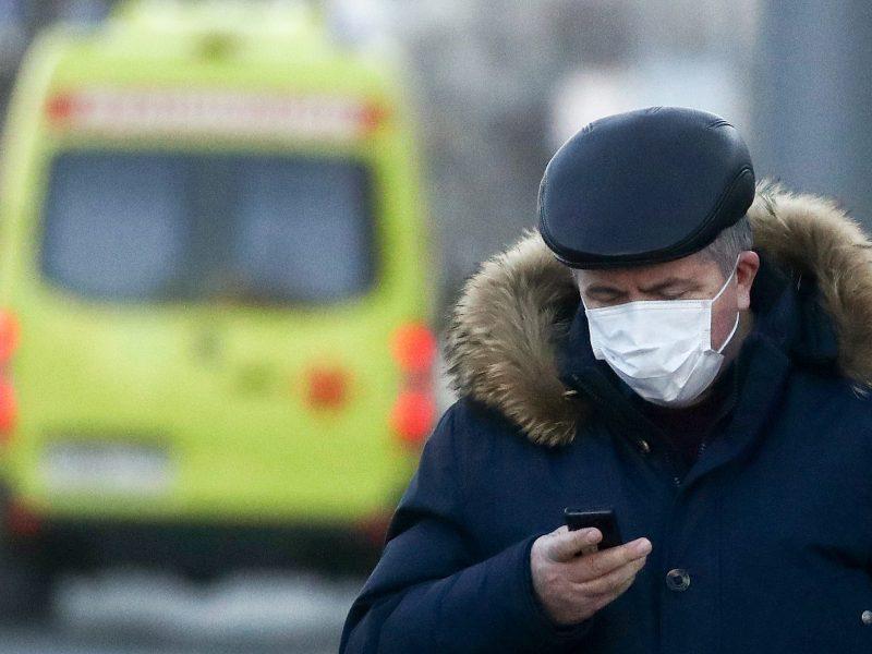 Rusijoje karantino pažeidėjams grės iki septynerių metų įkalinimo