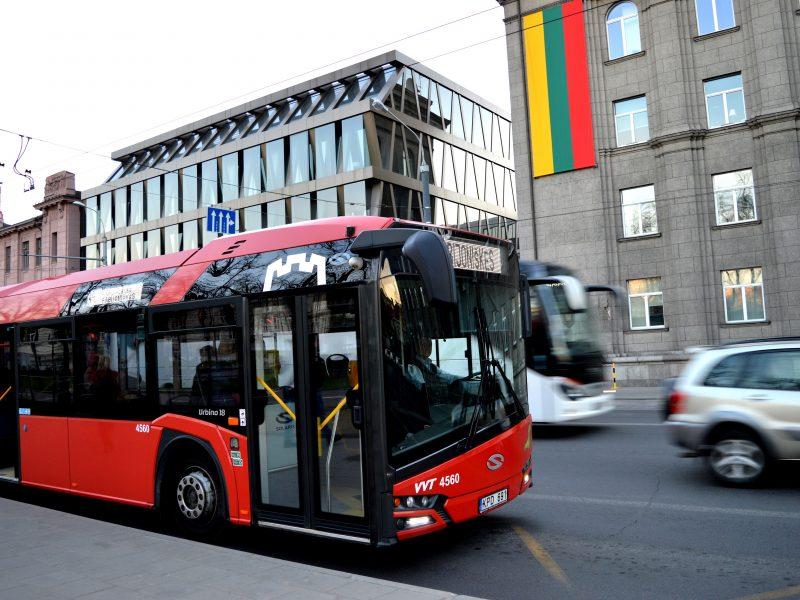 Vasario 16-ąją sostinėje į renginius veš nemokamas viešasis transportas