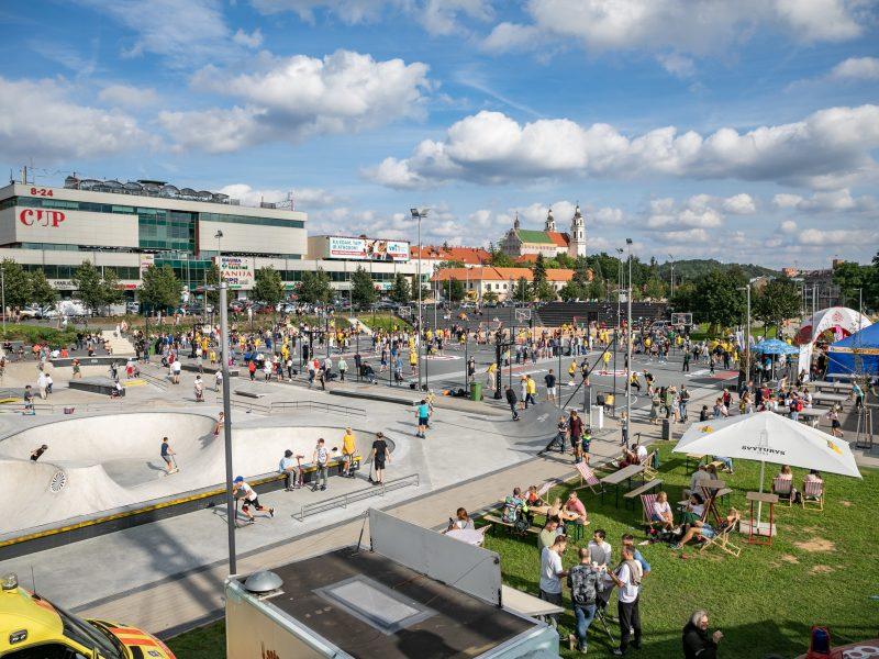 Vilnius atnaujino konkursą kairiosios Neries krantinės rekonstrukcijos darbams