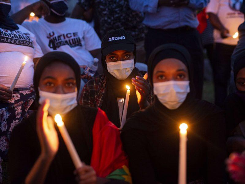 Etiopijoje per dvi protestų dienas žuvo mažiausiai 59 žmonės