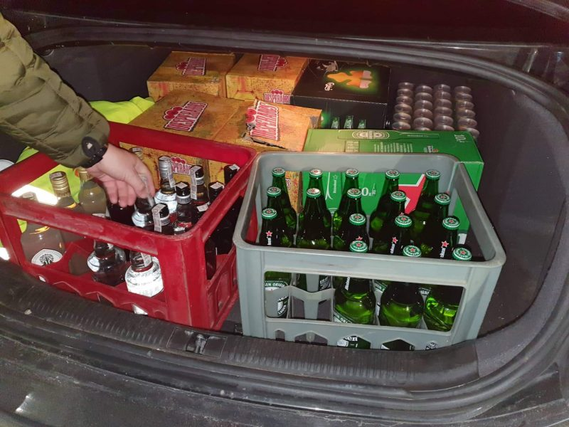 Klaipėdos apskrityje – nelegali prekyba alkoholiu ir cigaretėmis