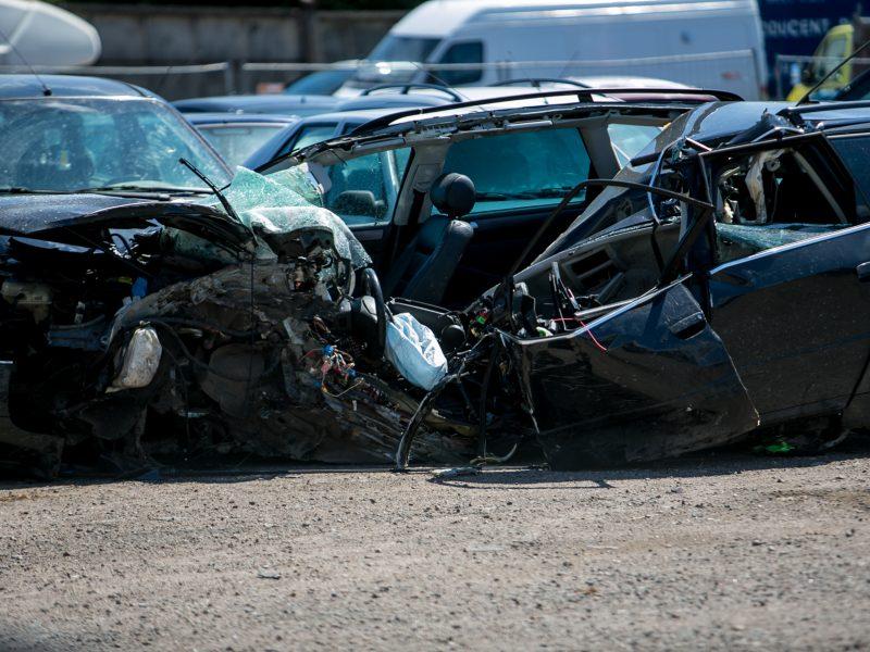"Tragiška ""Audi"" automobilio avarija"
